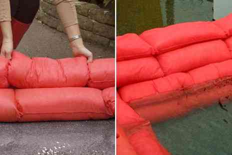Tooltime - 2 x 20 Litre Hydrosnake Water Absorbing Instant Sandbags - Save 20%