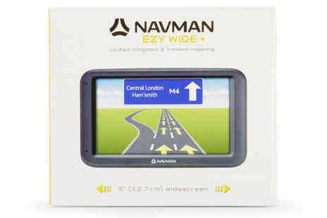 The Hut Group - Navman Mio F610 Sat Nav - Save 33%
