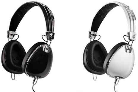 The Hut Group - Skullcandy Aviator Over Ear Headphones with Mic - Save 63%