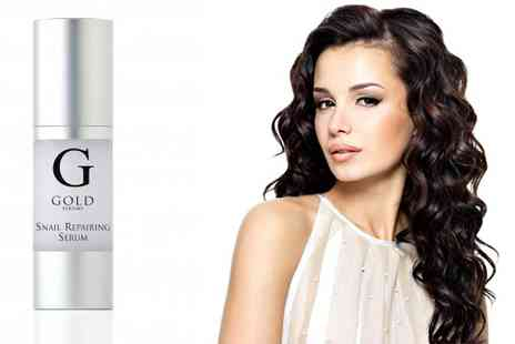 Skin Research - Gold Snail Repairing Serum - Save 77%
