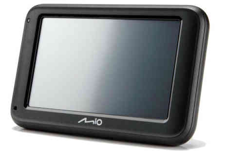 The Hut Group - Mio Moov Navman M419 Sat Nav - Save 33%