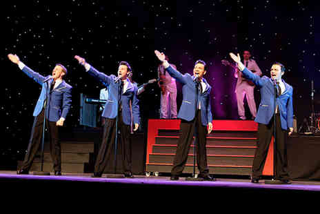 Lyceum Theatre Crewe - Two  tickets to see the Frankie Valli and The Four Seasons musical New Jersey Nights  - Save 47%