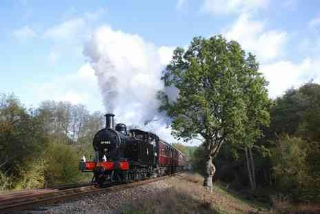 Spa Valley Railway -  Railway Two Adults or One Family Ticket  - Save 56%