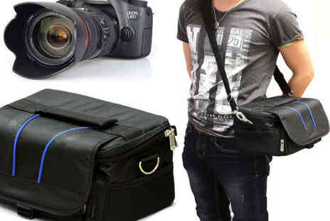 Navitech - Small  Digital Camera Bag with Water Resistant Interior - Save 30%