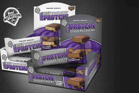 Real Nutrition Company - Twelve  Protein diet bars  - Save 44%