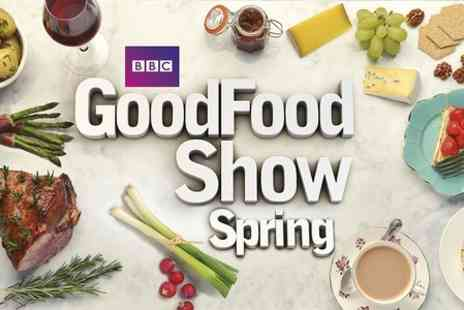 BBC Good Food Show Winter - Spring Half Day Entry Extensive showcase of food, drink - Save 54%