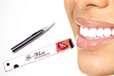 Brit Beauty Shop - Two Go White Teeth Whitening Pens - Save 91%