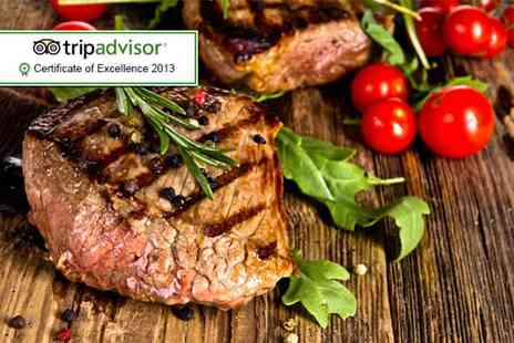 Sade Restaurant - Steak or seabass and bottle of wine for 2  - Save 54%