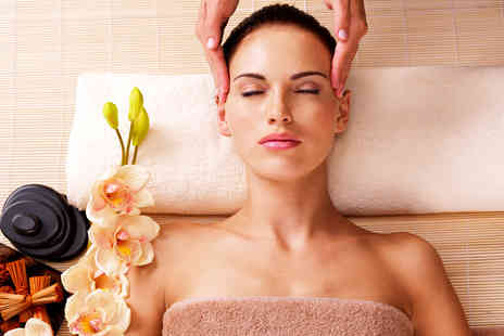 Urban Rays - Indian head massage and manicure or pedicure - Save 50%