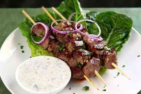 The Lebanese -  Two Courses With Drinks For Two - Save 57%