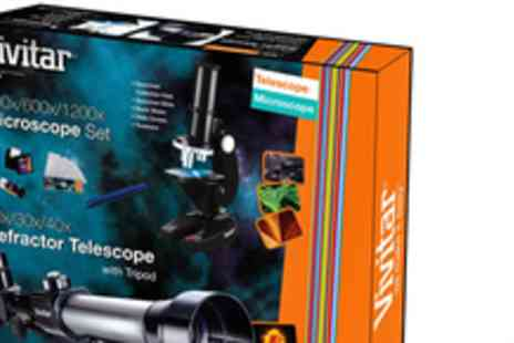 Sonic UK - Telescope and Microscope kit - Save 50%