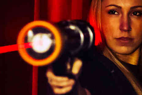 Laser Quest Sunderland - Three Games of Laser Quest for Two - Save 54%