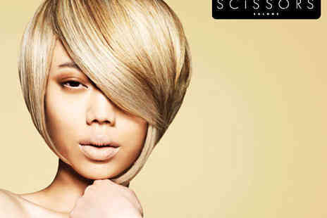 Scissors - Haircut and Blow Dry with Senior Designer or Director - Save 71%