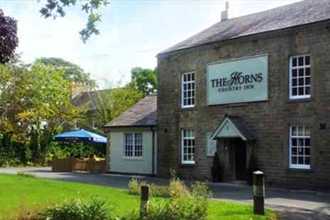 The Horns Inn - Dinner and Bubbly for two - Save 53%