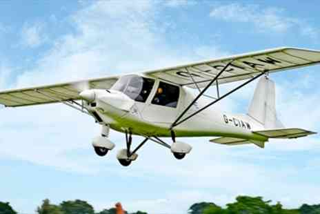 GS Aviation - Hour Long Microlight Flying Experience - Save 47%