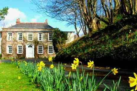Rose in Vale Country House Hotel - Two Course Dinner for two - Save 51%
