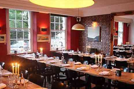 The Square Kitchen - Dinner and Bubbly for 2  - Save 54%