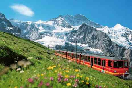 railtour suisse - Overnight Stay including Breakfast With Scenic Train Tour for Two in Swiss Alps - Save 50%