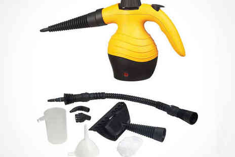 Flogout - Hand Held Portable Steam Cleaner and Accessories - Save 51%