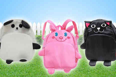 Flutterby Glam - Go on an animal adventure with a Kids Animal Backpack - Save 70%