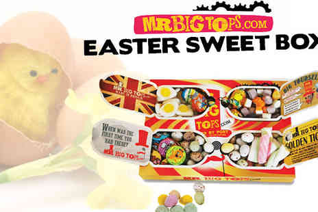 Flutterby Glam - Mr Big Tops Easter Box   - Save 33%
