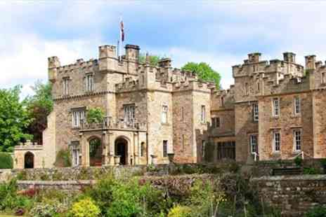 Otterburn Castle Country House Hotel -  Northumberland Medieval Castle stay with Dinner  - Save 39%