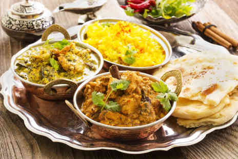 Curry Cottage - Three course North Indian meal for 2 people - Save 62%