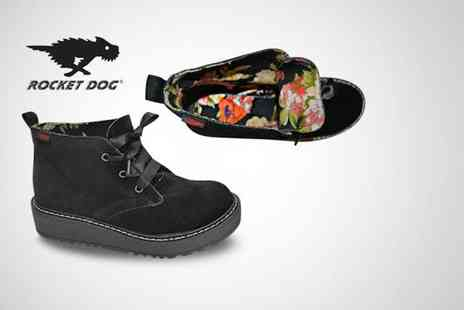 urban 2 U - Pair of Rocket Dog beehive ankle boots in a choice of 3 styles - Save 60%