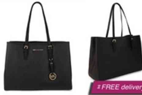 Global Fashion Deals -  Michael Kors Saffiano tote bag - Save 49%