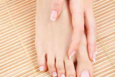 Oasis Beauty Salon - Luxury Manicure - Save 50%