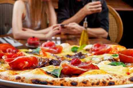 Caffe Centro - Pizza or Pasta Meal For Two  - Save 59%