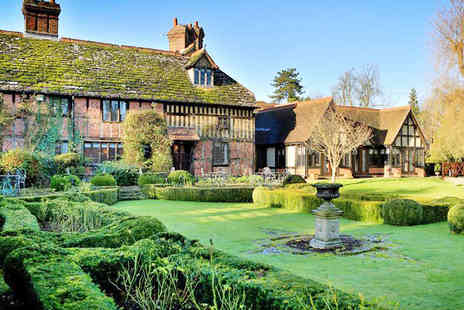 Langshott Manor - Overnight Stay for Two People with Breakfast  - Save 44%