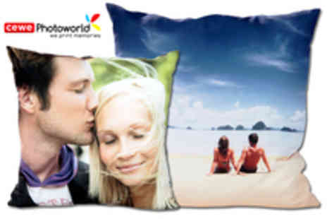 Photoworld - Voucher for a Personalised Photo Cushion - Save 44%
