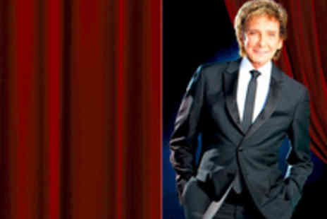 Barry Manilow - Tickets to Barry Manilow UK Tour - Save 30%