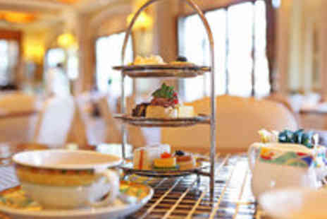 The Chocolate Cafe - Riverside Cream Tea with Sandwiches and Prosecco for Two People - Save 40%