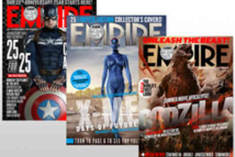 Bauer Consumer Media - Voucher for a 12 Month Subscription to Empire Magazine - Save 20%