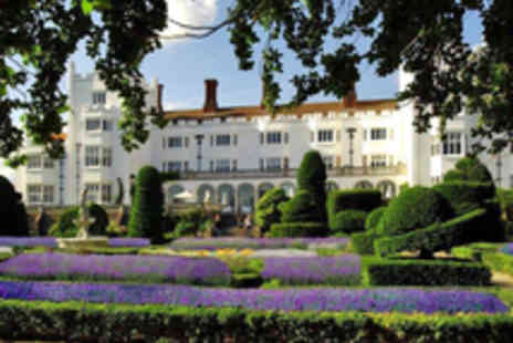 Danesfield House Hotel - Lavish Spa Experience with Champagne Afternoon Tea for Two - Save 52%