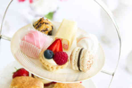 Caffe Concerto - Afternoon Tea for Two with a Bottle of Moet Champagne - Save 48%