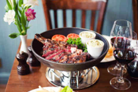 Rowley's Restaurant - Chateaubriand Steak Dinner for Two People - Save 40%