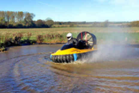 Axceler-8 Hovercraft - 60 Minute Land and Water Hovercraft Experience for One  - Save 31%