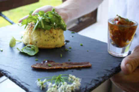 Green Cow Kitchens - Sophisticated British Dining with a Bottle of Wine for Two People