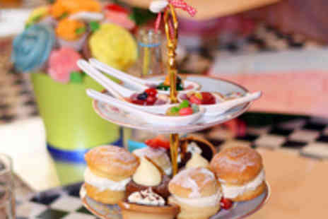 Neighbourhood Restaurant - Mad Hatters Champagne Afternoon Tea for Two  - Save 50%