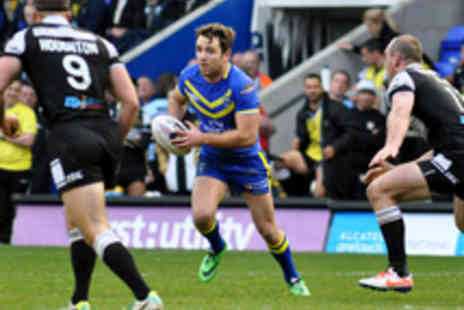Warrington Wolves - Hospitality Tickets to Warrington Wolves v Widnes Vikings Rugby League - Save 45%