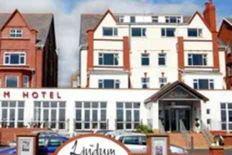 The Lindum Hotel - Lancashire Seafront Dining Stay for Two - Save 53%