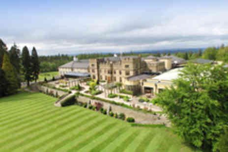 Slaley Hall - Scenic Northumberland Country Estate Stay with Two Course Dinner for Two - Save 46%