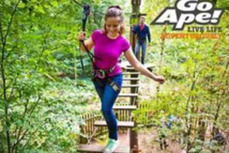 Go Ape - Tree Top Adventure for One - Save 9%