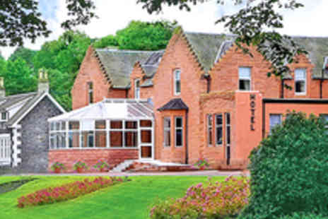 The Abington Hotel - Scottish Lowlands Break for Two with Three Course Dinner and a Glass of Wine - Save 55%
