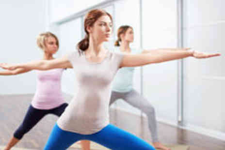 MoveGB - Ten Yoga Classes Including Hot Yoga for One Person - Save 64%