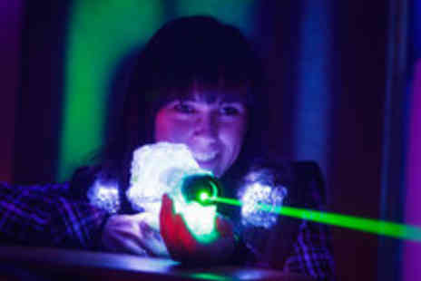 Sheffield Laser Games - One Hour Outdoor Laser Tag Experience for up to Four People - Save 70%