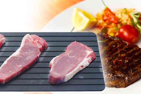Onevolution - Freshness or taste with the Miracle Thaw Defrost Tray  - Save 63%